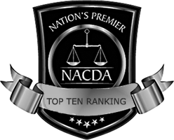 NACDA Top 10 Rhode Island Lawyer