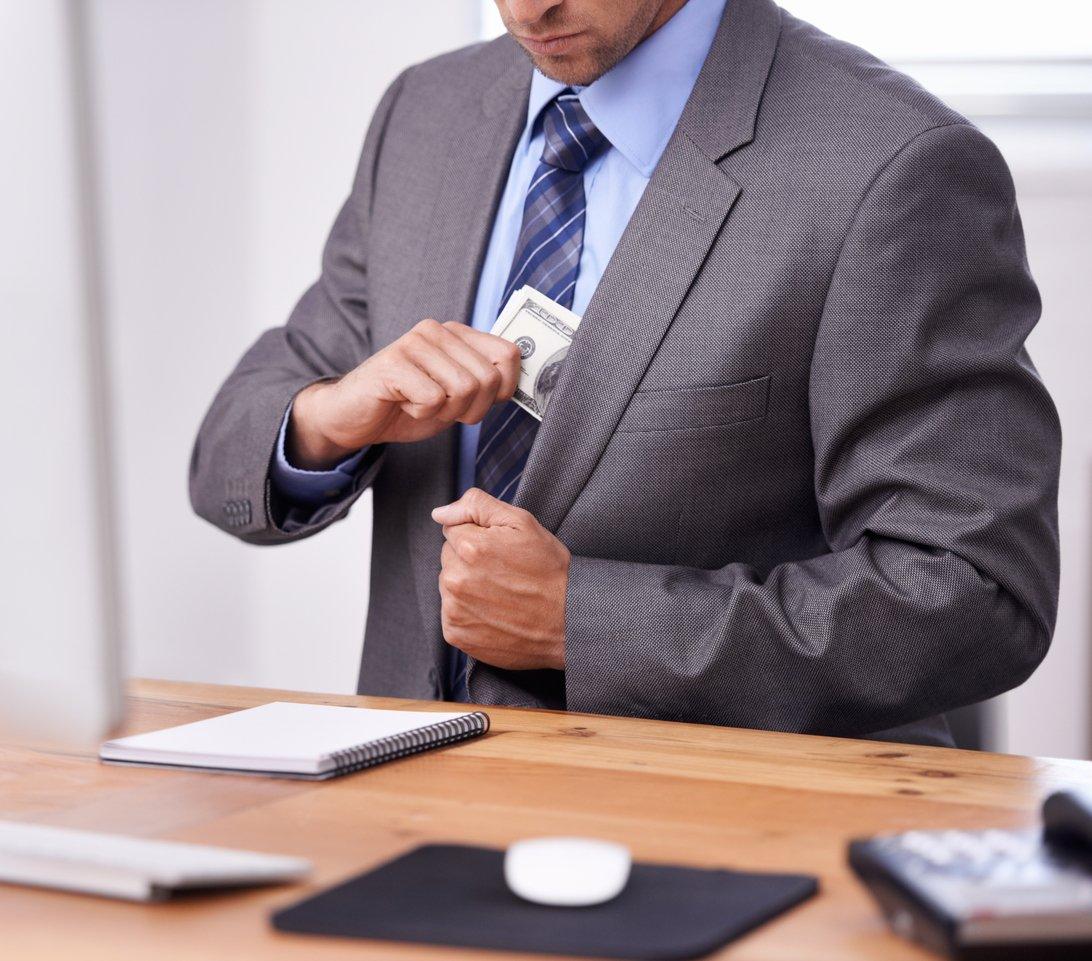 embezzlement charge