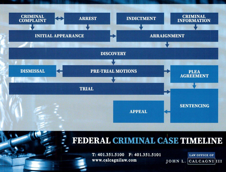 Federal Case Timeline
