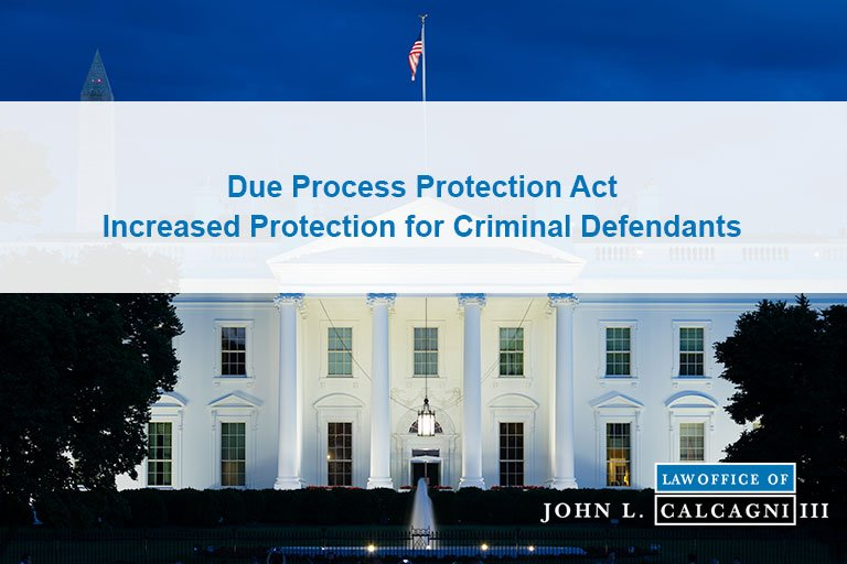 Due Process Protections Act